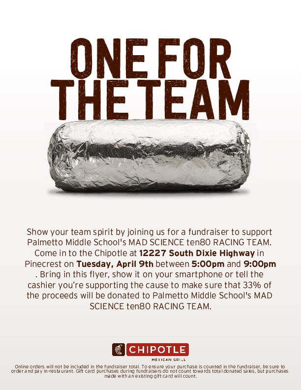 Chipotle Family Night