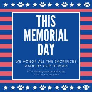 Memorial Day (No School)