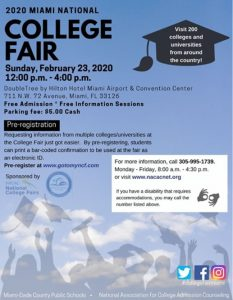 College Fair @ DoubleTree by Hilton Hotel Miami Airport & Convention Center | Miami | Florida | United States