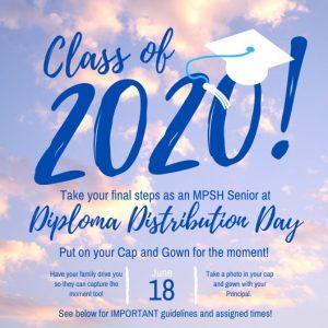Class of 2020 Diploma Distribution Celebration