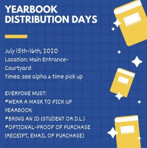 Yearbook Distribution Days