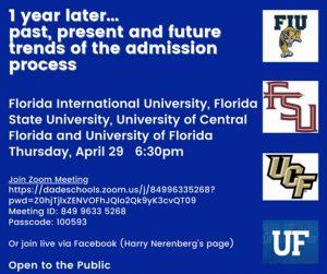 Florida College Night @ Zoom