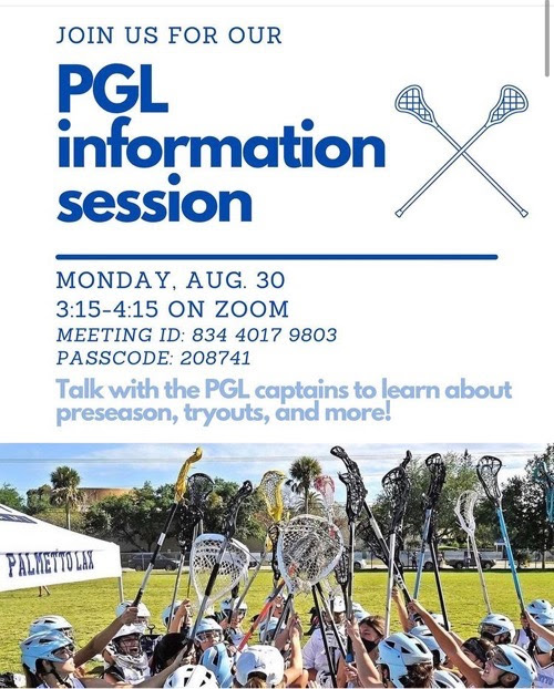 Girls LAX Info Session Flyer
